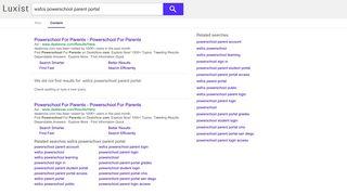 wsfcs powerschool parent portal - Luxist - Content Results