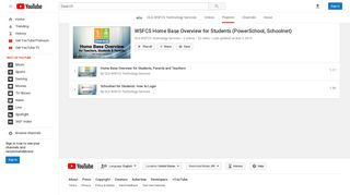 WSFCS Home Base Overview for Students (PowerSchool, Schoolnet ...