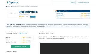 PracticePerfect Reviews and Pricing - 2019 - Capterra