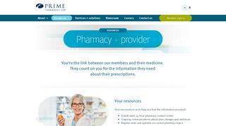 Pharmacy resources   Prime Therapeutics