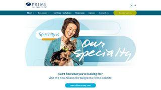 Prime Therapeutics Specialty Pharmacy   Prime Therapeutics