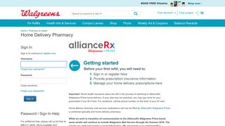 Home Delivery Pharmacy   Walgreens