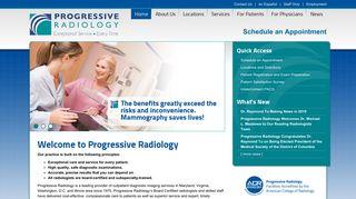 Progressive Radiology - Maryland | Washington D.C. | medical ...
