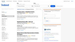 Progressive Radiology Jobs, Employment in Takoma Park, MD ...