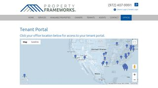 Tenant Portal - Property Frameworks
