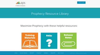 Prophecy Resource Library - APS