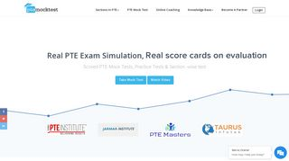 PTE Mock Test, PTE Practice Test Online with Score & Section wise ...