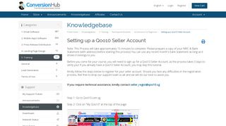 Setting up a Qoo10 Seller Account - Knowledgebase - Conversion ...