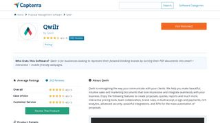 Qwilr Reviews and Pricing - 2019 - Capterra