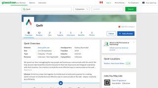 Working at Qwilr | Glassdoor.ca