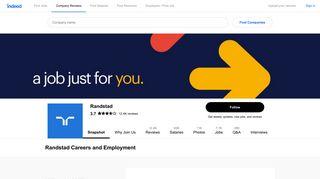 Randstad Careers and Employment | Indeed.com