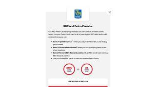RBC Royal Bank of Canada – Petro-Points – Petro-Canada