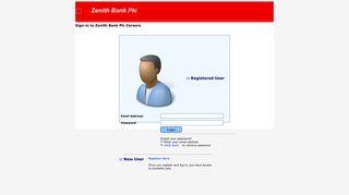 Online Recruitment : Login - Zenith Bank
