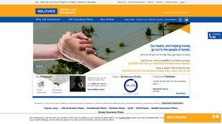 Reliance Nippon Life Insurance: Life Insurance   Term Insurance   Life ...