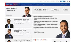Welcome to Reliance Capital