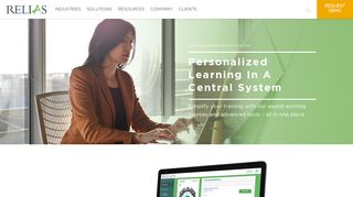 Relias Learning Management System (LMS)   Relias