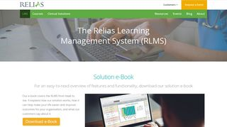 Learning Management System - Relias Learning