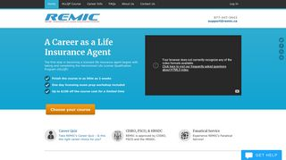 REMIC HLLQP: Insurance agent course for as little as $298