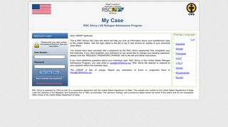 RSC Africa | US Refugee Admissions Program