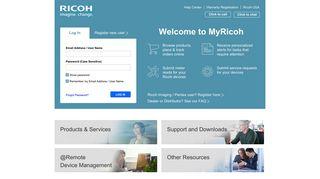 MyRicoh.com - Home | Ricoh USA
