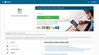 Rocky Mount Public Utilities (RMPU): Login, Bill Pay, Customer ... - Doxo