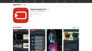 Rogers Anyplace TV on the App Store - iTunes - Apple