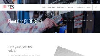 Fleet One EDGE Card For Fuel Savings and Discounts - EFS