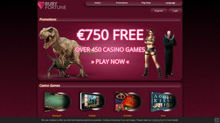 Ruby Fortune | Play at a Trusted, Reputable Online Casino