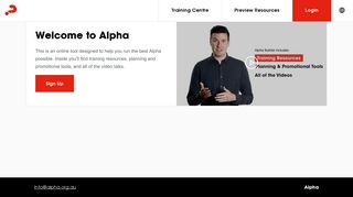 Alpha Australia