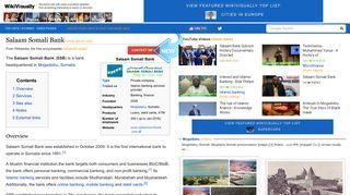 Salaam Somali Bank - WikiVisually