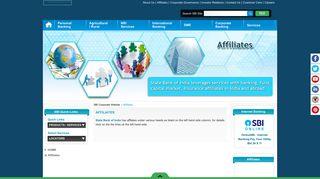 AFFILIATES - SBI Corporate Website
