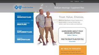 Blue Cross and Blue Shield of South Carolina | Medicare Advantage ...