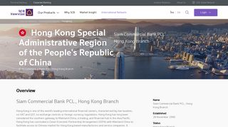 Hong Kong - SCB
