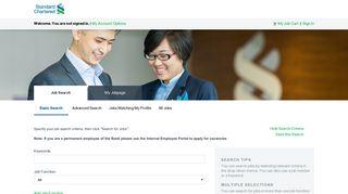 Jobs - Careers   Standard Chartered Bank