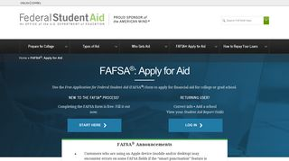 FAFSA®: Apply for Aid   Federal Student Aid