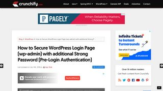How to Secure WordPress Login Page (wp-admin) with additional ...