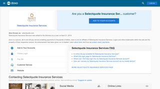 Selectquote Insurance Services: Login, Bill Pay, Customer Service ...
