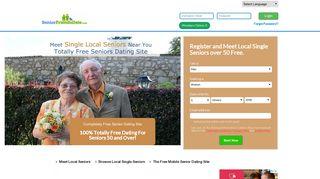 Senior Friends Date - Free Dating for Single Seniors