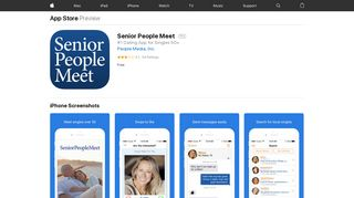 Senior People Meet on the App Store - iTunes - Apple