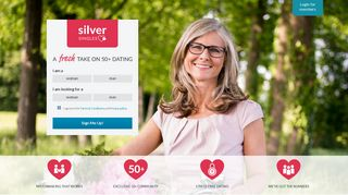 SilverSingles   The Exclusive Dating Site for 50+ Singles