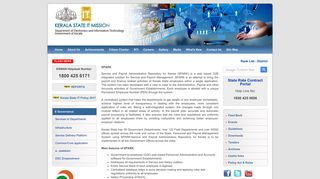 SPARK, Service and Payroll Administrative Repository for Kerala, E ...