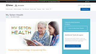 My Seton Health Login Page - Seton.net