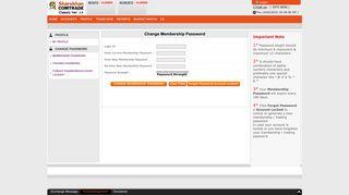 (WLE501) Change Membership Password