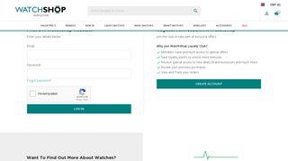 person_outline - Login / Register   WatchShop.com™