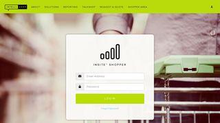Shopper Login   IntelliShop