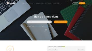 Sign Up Campaign   SMS Marketing Software   CallHub