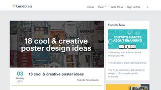 18 Cool & Creative Poster Ideas   Lucidpress