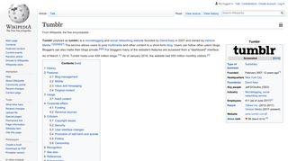 Tumblr - Wikipedia