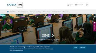 SIMS ID   Capita SIMS