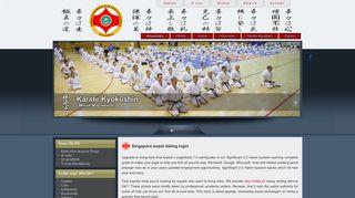 Singapore expat dating login - Karate Kyokushin